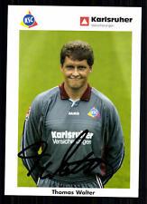Thomas Walter Karlsruhrer SC 2002-03 TOP AK  + A 72235