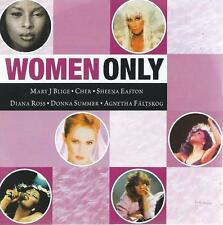 CD album WOMEN ONLY - CHER CE CE PENISTON AGNETA FÄLTSKOG ELKIE BROOKS SAM BROWN