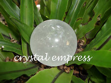 FENG SHUI - 50MM CLEAR QUARTZ CRYSTAL BALL (WISDOM, HEALING, PROTECTION)