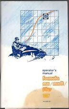 1987 SKI-DOO SNOWMOBILE FORMULA MX & FORMULA PLUS OWNERS  MANUAL   (961)