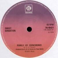 "SWEET SENSATION ~ PURELY BY COINCIDENCE / TOUCHED BY MAGIC ~ 1974 UK 7"" SINGLE"