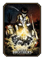 The Avett Brothers 2013 Poster Missoula MT Signed & Numbered #/200