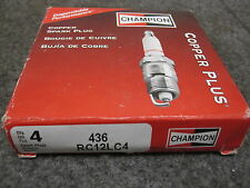 4 NEW CHAMPION SPARK PLUGS # RC12LC4