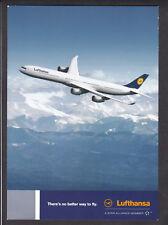 AK, Flugzeug Lufthansa Airbus 340 - 600