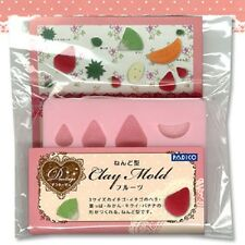 Padico FRUITS Soft Mold Resin For  Clay Made In JAPAN