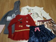 Lot Girls Clothing Bundle Size 7-8 Top Skirt Hoodie sweatshirt all NWT