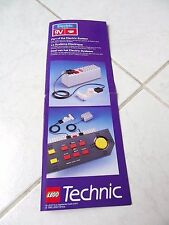 Lego Technic electric system système electrique notice only instructions