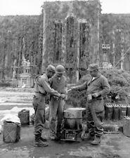 US Army Troops Coffee Service Pyongyang Korean War Reprint Photo 6x5 Inch