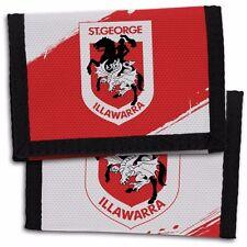 98704 St George Dragons Nrl Team Logo Kids Nylon Wallet Gift Idea