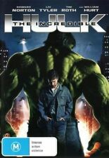 The Incredible Hulk DVD Movie TOP BOX OFFICE BEST SCIENCE FICTION BRAND NEW R4
