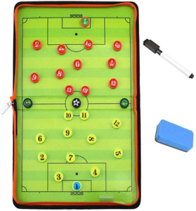 Konibn Magnetic Soccer Tactic Coaching Board Football Coach Tool With 26 Magnets
