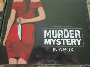Murder Mystery in a Box -Murder at Bedlam Aaylum (New)
