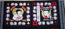 "Betty Boop 15""x 15"" Fabric Panels. - Set of 2 .. OOP -- RARE!"