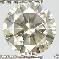 0.31ct WOW DAZZLING 100% NATURAL GOLDEN YELLOW TINT RARE EARTH MINED DIAMOND!