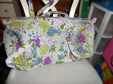 Vera bradley small duffel bag in retired Watercolor Pattern