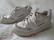 Filles HEELYS Roller Chaussures à Roulettes Blanc/Rose U.K. 2 (UE 34)