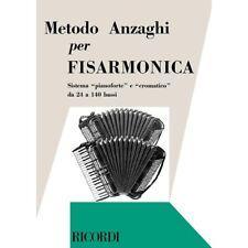 Metodo Anzaghi per Fisarmonica -edizioni Ricordi 1979 (241017)