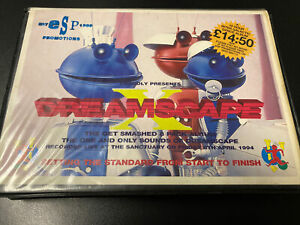 Dreamscape X (10) Oldskool Hardcore Rave Tape Pack 1994 - Incomplete