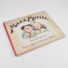 Max & Moritz von Wilhelm Busch - Braun & Schneider, München - Pappausgabe
