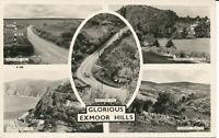 PC29402 Glorious Exmoor Hills. Multi view. Blackmore Minehead series