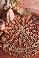 LOVELY Small Wonder Pineapple Doily/Crochet Pattern INSTRUCTIONS ONLY