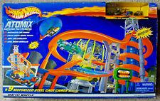 Hot Wheels Atomix Micro Set #9 Motorized Steel Cage Chaos; RARE, w/box, 2002