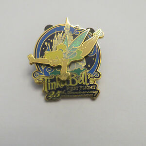Disney WDW 25th Anniversary Of First Flight Of Tinker Bell Pin