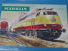 Marklin Catalogue 1966/67  F  Bfrs
