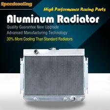 3 ROW ALUMINUM RADIATOR For Chevrolet Impala Bel Air Chevelle V8 up to 700HP 63-