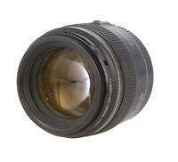 Canon 85mm F/1.8 USM EF Mount Lens Autofocus (lens motor) {58} - UG
