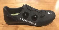 Specialized S-Works 7 Black Size 42 Road shoes New Carbon 3 Hole Peloton