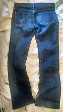 Seven For All Mankind Bootcut Jeans Sz 27 100% Authentic!