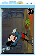 Topps Disney Collect 1937 Mickey Vintage July VIP card - Brave Little Tailor