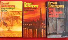 6 x Hemingway - Paket  - Bücherpaket im TOP Zustand Sammlung