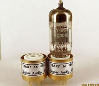 1 × ECC83 12AX7 12AU7 ECC81 To 6EU7 Vacuum Tube Amplifier Convert Socket Adapter