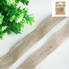 Hessian Ribbon 2m Vintage Rustic Country Wedding Party Decorations