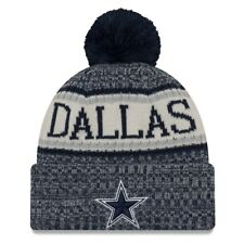 DALLAS COWBOYS 2018 NFL NEW ERA OFFICIAL ON FIELD SIDELINE BEANIE KNIT HAT