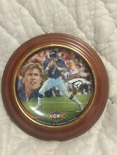 "John Elway ""King Of The Mountain� Collectible Bradford Exchange Plate Limited Ed"