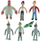NJ Croce Futurama Dr. Zoidberg Bendable Poseable Figure Collection Toys