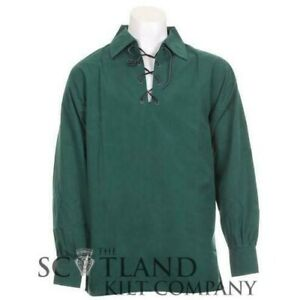 New Mens Deluxe Ghillie Shirt in Ancient Green