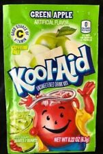 24 Kool-Aid Green Apple Unsweetened Caffeine Free Drink Mix Exp 2019