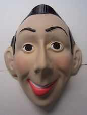 PEE WEE HERMAN 1987 Costume Halloween  Mask - Nos ( New Old Stock ) Peewee
