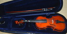 DE VILLIER 1/8 SIZE  VIOLIN NO.VN183  WITH HARD CARRYING CASE