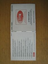 1997 EMI digisamp001 Mono & Stereo demonstration only not for sale sampler CD