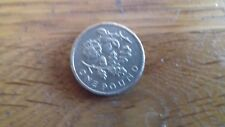 OLD STYLE  £1 COIN UK ROSE AND OAK