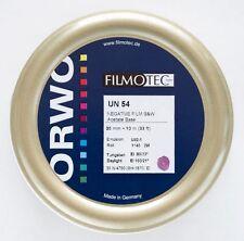 1x bulk roll ORWO UN54  35mm x 10 Meter (33ft)  B&W Negative film ISO 100