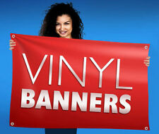2' x 10' Full Color Custom Banner 13oz Vinyl Outdoor Indoor Personalized