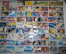 NM-MINT Complete Topps Movie 2000 Base #1-72 Pokemon Cards. No chase cards