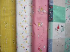Riley Blake Salt Water fabric collection 100% cotton Fat Quarter Bundle of 4 FQ