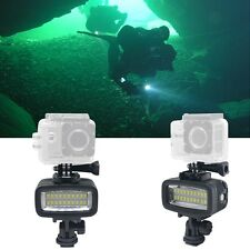 Mcoplus 20pcs Underwater 40m Diving Waterproof Video LED Light for DV Camera